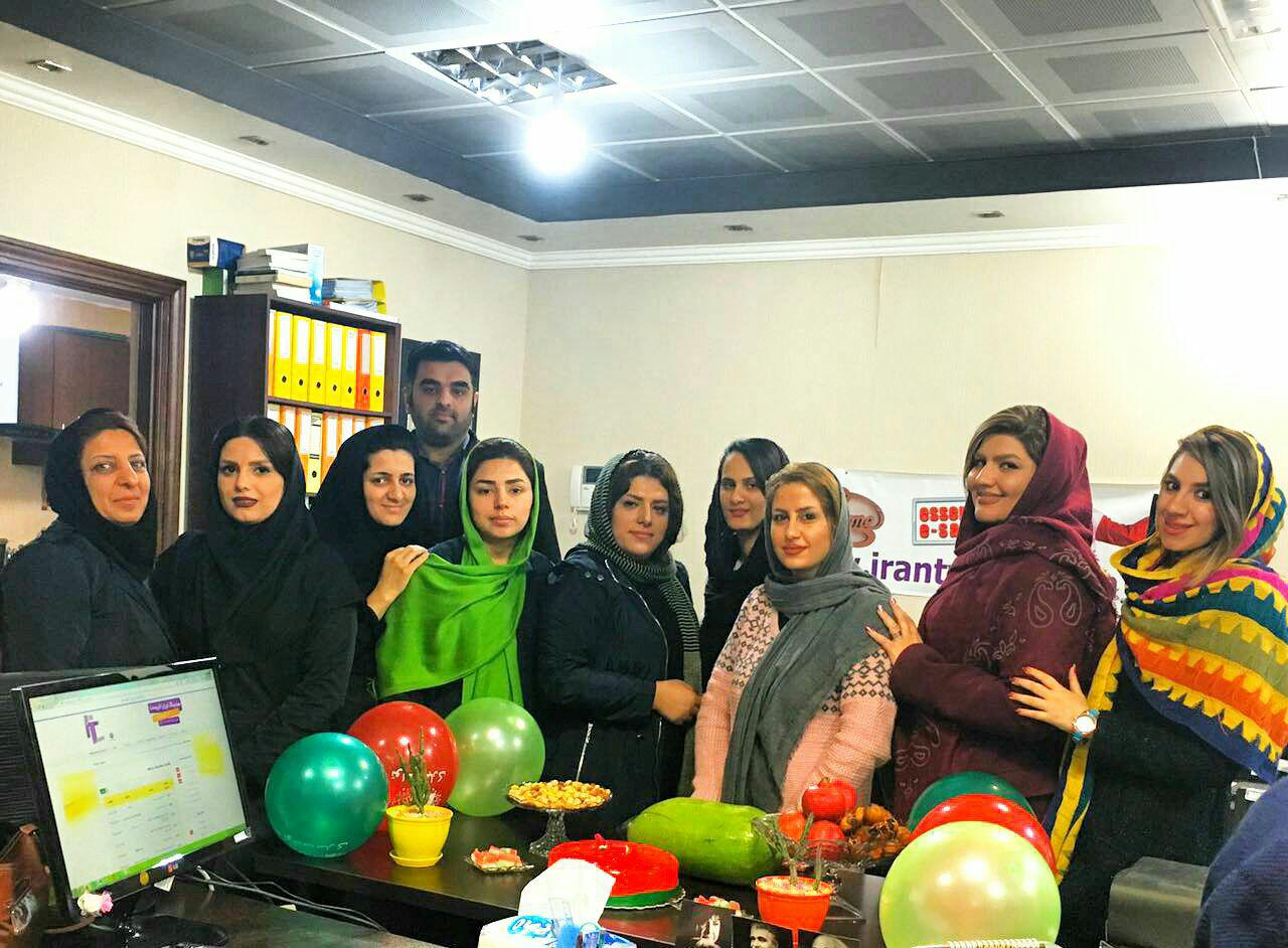 شب یلدا در هلدینگ ایران تایپیست